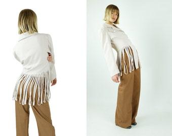 Vintage Fringe Blazer / Jacket