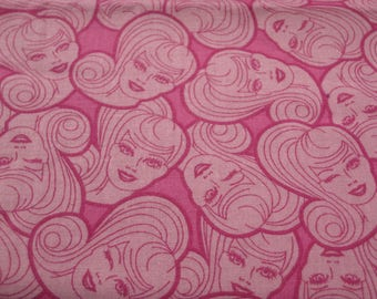 Barbie Fabric - 1 Yard - READY to SHIP