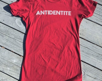 Antidentite - Women's Red Medium Shirt
