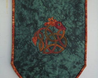 Celtic Dragon Knot Banner / Celtic Art