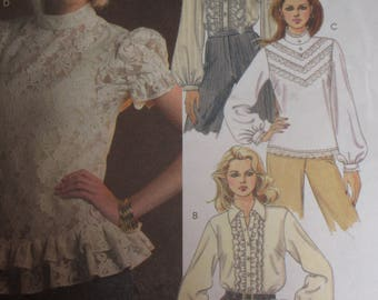 McCall's Pattern 5181  Blouses Large Sizes 14-20