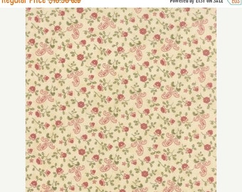 SALE Country Orchard in Cream by Blackbird Designs for Moda - One yard - 2753 17