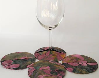 Coasters, Slipper Coasters, Stemware Slipper Coasters, Wine Glass Charms