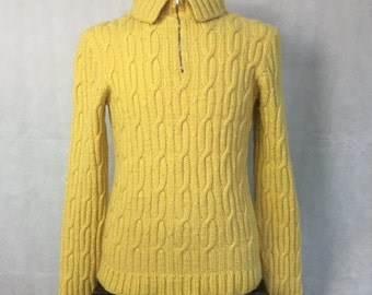SALE! 1950s cable knit sweater
