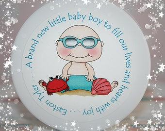 Beach Themed Baby Shower, Baby Shower Favors, Shower Favors, Boy, Baby Boy, Whipped Body Butter, Unique Favors, Personalized Favors