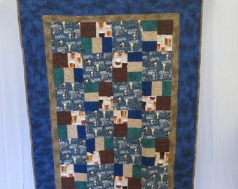 Home Brew Craft Beer Quilt