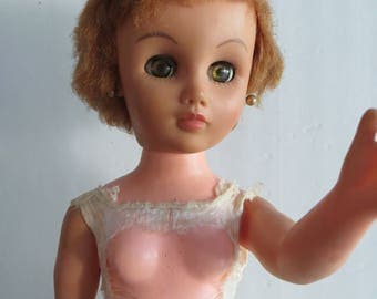 Vintage 50s 60s doll Allied Eastern, AE 2006-21 20""