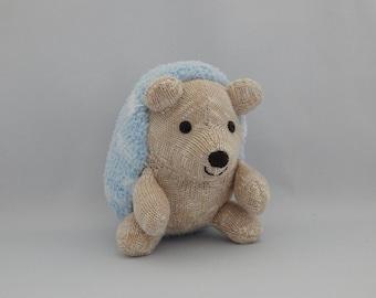 Hedgehog Plush Toy, Hedgehog Plushie, Plush, Stuffed Animal, Sock Monkey