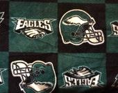 Philadelphia Eagles Football Block Fleece Sports Baby Blanket