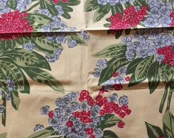 HTF CHP California Hand Prints Tropical Fabric Remnant