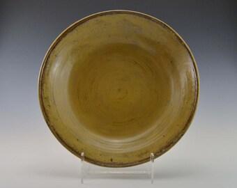 Stoneware serving bowl, ceramic salad bowl, pottery fruit bowl