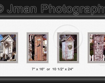 Outhouse Series - Ready To Hang Photo Wall Art