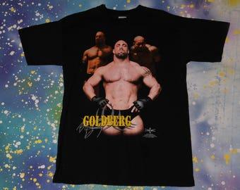GOLDBERG World Championship Wrestling T-Shirt WCW Size L