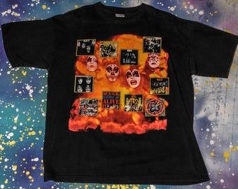 KISS The Originals Rock T-Shirt Size XL