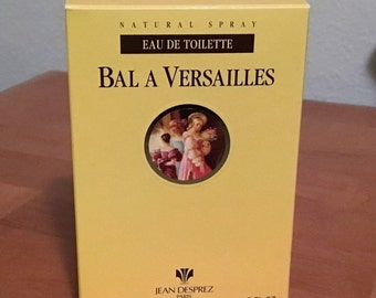 Bal a Versailles spray bottle, 1.7 oz half full. By Jean Desprey.