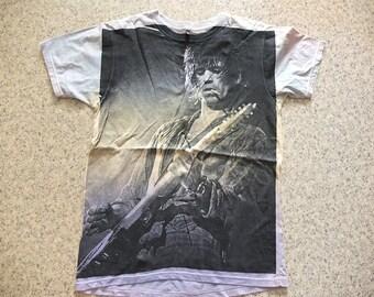 Rock Star Guitar Dyed T-shirt M
