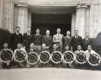 Pi Tau Sigma Mechanical Engineers Vintage Photo
