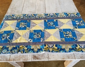 Bed Runner - Bed Scarf - Handmade/Quilted