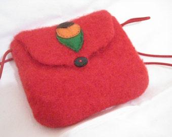 Red Felt Bags