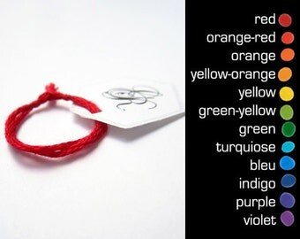 red string ring mood ring red string of fate zodiac ring horoscope chakra balance blue purple violet something blue charm ring stackable