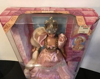Mattel Rapunzel Barbie Doll, (BR)