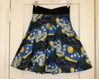 Starry Night Skirt, size Small