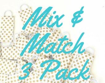 Mix & Match (3 PACK) Door Latch Muffler, baby nursery, door stopper,home decor,baby shower gift, quiet nursery door, kids LATCHY CATCHY