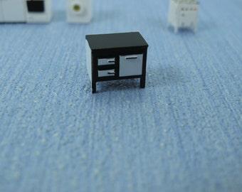 1/144th inch scale  Micro scale Kitchen furniture