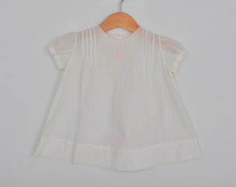 Vintage Baby Dress Christening / Baptism Gown Size 3 to 6 months