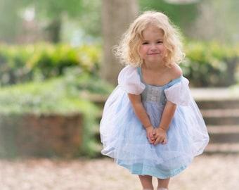 Cinderella dress, Princess dress, halloween costume, cinderella inspired dress, princess costume, Cinderella costume, fairytale costume