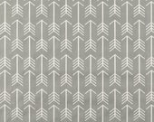 Fabric - Gray and White Arrows Fabric by the Yard - Quilt Fabric - Apparel Fabric - Home Decor Fabric - Fat Quarters - Southwestern Fabric