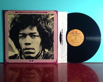 JIMI HENDRIX The Essential Vinyl Record Album Double LP 1978 Gatefold Psych Classic Rock Music Woodstock Near Mint - Condition Vintage