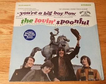 Vintage 1967 The Lovin Spoonful Youre A Big Boy Now Vinyl Record Album Soundtrack