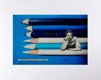 Surrealisms- bundle of three limited edition collage c-prints