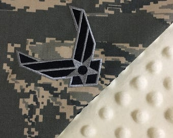 Military Baby Blankets, Navy, Army, Marines, Coast Guard