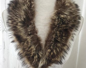 vintage Fox Fur Collar scarf stole