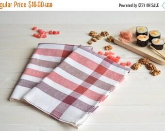 SALE Linen tea towels set of 2, kitchen towels, dish tea towel, linen hand towel, dish towels, linen tea towel, hand towel, linen towels,