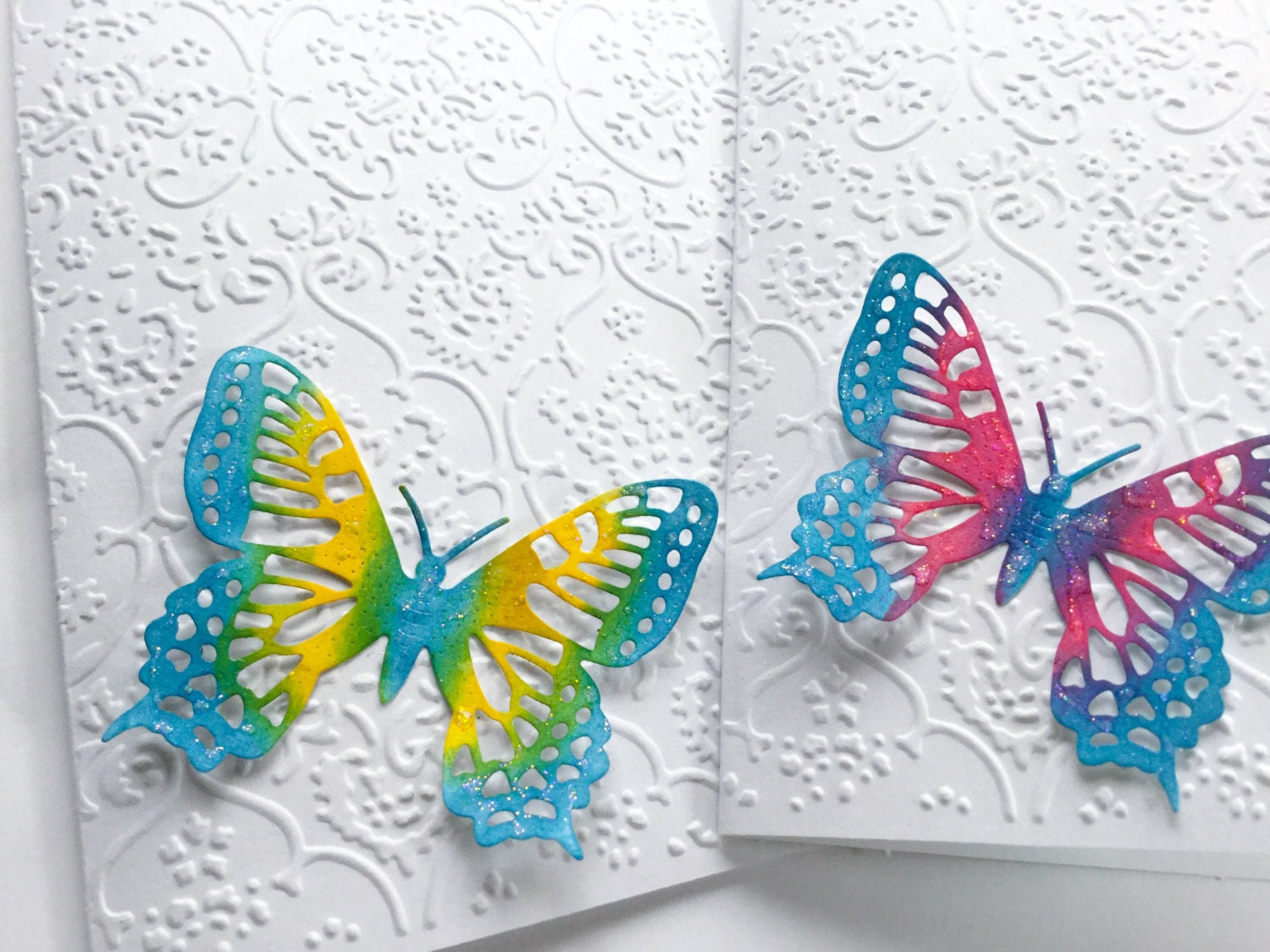 hand made cards handmade butterfly card gorgeous pink