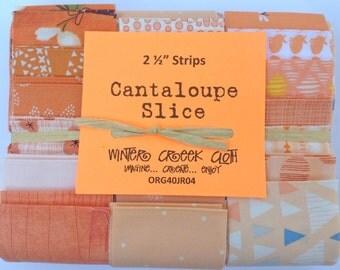 Cantaloupe Slice Jelly Roll (ORG40JR04)