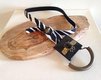 Crazy Cool Vintage 1990s Egyptian Influence Scarab Belt