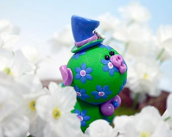 Constance Polymer Clay Piglet