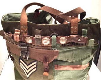 Vintage Remake Army Bag 2016 #1