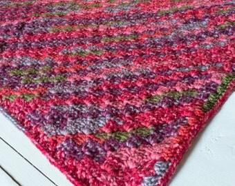 Crochet Blanket - Blanket - Afghan - Lapghan - Nursery - Decor - Home Decor - Nursery Decor - Autumn Wishes