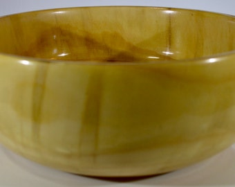 1129 Art bowl, made from Monkey Puzzle