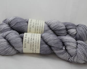 Grey Flannel Poetry 50/50 SW merino/silk fingering weight yarn