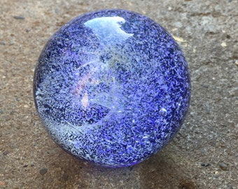 SUGARY SKIES Galaxy Marble by Pacific Northwest Glass Free Shipping