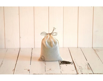 bulk small bag in organic cotton voile