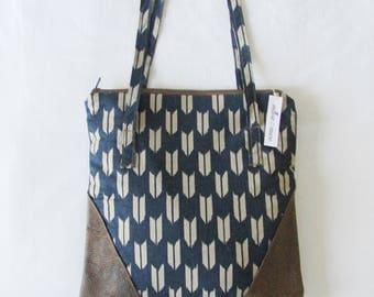 Shoulder bag leather handbag purse tote bag