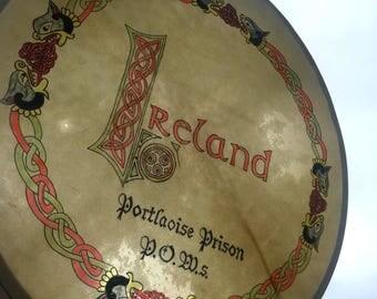 Handmade Bodhrán Drum - IRA Historical Artifact