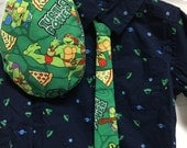 Cute Turtle Power tie  for a wedding or formal event